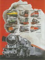 Mozambique 1999 Trains Série 1401BM-BV 9 Val ** MNH - Mozambique