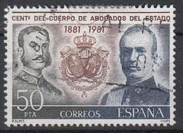 SPANJE - Michel - 1981 - Nr 2507 - Gest/Obl/Us - 1931-Aujourd'hui: II. République - ....Juan Carlos I