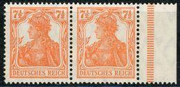 Nr. 99 B Dgz Postfrisch - Michel 300 € - Deutschland