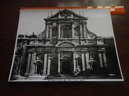FOTO ALINARI-ROMA-CHIESA  DI S. IGNAZIO-(ALGARDI) 25X20 CIRCA - Luoghi
