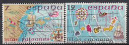 SPANJE - Michel - 1981 - Nr 2505/06 - Gest/Obl/Us - 1931-Aujourd'hui: II. République - ....Juan Carlos I