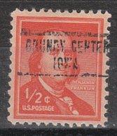 USA Precancel Vorausentwertung Preo, Locals Iowa, Grundy Center 748 - Vereinigte Staaten