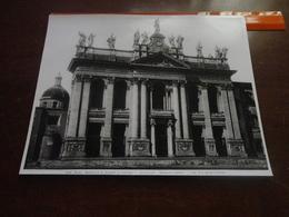 FOTO ALINARI-ROMA-BASILICA DI SAN GIOVANNI IN LATERANO-LA FACCIATA (ALESSANDRO GALILEI) - 25X20 CIRCA - Luoghi