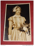 LOKEREN  -  PRINCESSE JOSEPHINE CHARLOTTE  En Visite à Lokeren Le 29-06-1952 - Koninklijke Families