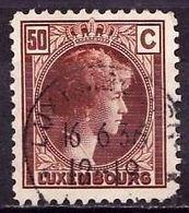 LUXEMBURG Mi. Nr. 171 O (A-3-46) - 1926-39 Charlotte Right-hand Side