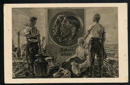 AK/CP Propaganda  Hitler  Nazi    Gel/circ.1936   Erhaltung/Cond. 3  Nr. 00781 - Guerra 1939-45
