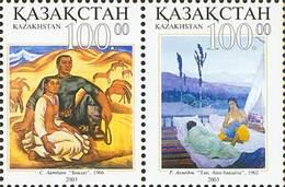 Kazakhstan 2003. Painting.Joint Issue With Uzbekistan.  MNH** - Kazakistan