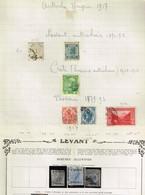 Lot Autriche Levant - Francobolli