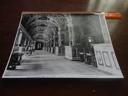 FOTO ALINARI-PALAZZO VATICANO-LA BIBLIOTECA(DOM.FONTANA,LE PITTURE SONO DI ARTISTI DEL XVIII.SECOLO) - 25X20 CIRCA - Luoghi