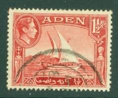 Aden: 1939/49   KGVI    SG19   1½a     Used - Aden (1854-1963)