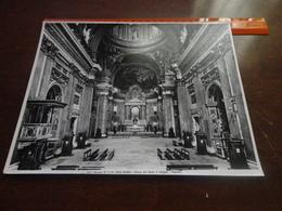 FOTO ALINARI-ROMA-CHIESA DEL GESU'-L'INTERNO (VIGNOLA) - 25X20 CIRCA - Luoghi