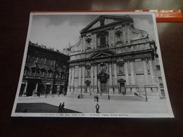 FOTO ALINARI-ROMA-CHIESA DEL GESU'-LA FACCIATA (VIGNOLA E GIACOMO DELLA PORTA) - 25X20 CIRCA - Luoghi
