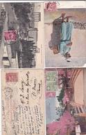 ¤¤   -   Lot De 10 Cartes Timbrées  -  Timbres De Divers Pays  -  Voir Les Scans  -  ¤¤ - Briefmarken