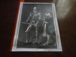 FOTO ALINARI-PARIS-MUSEE NATIONAL DU LOUVRE-PORTAIT D'ALOF DE WIGNACOURT (M.AMERIGHI,DIT CARAVAGGIO) 25X20 CM - Luoghi