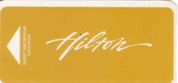 Hotel Keycard Hilton - Cartes D'hotel