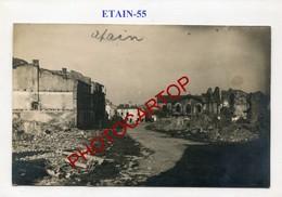 ETAIN-CARTE PHOTO Allemande-Guerre 14-18-1WK-France-55-Militaria- - Etain