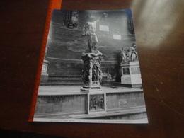 FOTO ALINARI-FIRENZE-LOGGIA DI LANZI-IL PERSEO CON LA TESTA DI MEDUSA(BENVENUTO CELLINI) 25X20 CM - Luoghi