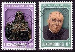 LUXEMBURG Mi. Nr. 1054-1055 O (A-3-47) - Luxembourg