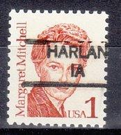 USA Precancel Vorausentwertung Preo, Locals Iowa, Harlan 835 - Etats-Unis