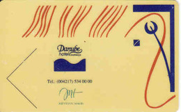 Hotel Keycard Slovakia, Dabube Hotel Bratislava - Cartes D'hotel