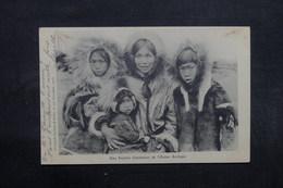 ETATS UNIS - Une Famille Chrétienne De L 'Océan Arctique - Esquimaux - L 32012 - Etats-Unis