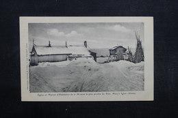 ETATS UNIS - Carte Postale - Eglise Et Maison De La Mission La Plus Proche Du Pôle - L 32013 - Etats-Unis