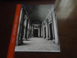 FOTO ALINARI-ROMA-BASILICA DI S.MARIA MAGGIORE-INTERNO DEL PORTICO (FUGA) -  25X20 CM - Luoghi