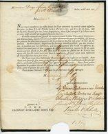 AMSTERDAM 1792 FAIRE-PART DE DECES DE JEAN CHRETIEN KESSLER PAR VVE PLATZMAN AVEC BEAU CACHET DE CIRE VERS ST-CHAMOND - Obituary Notices