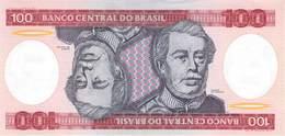 100  Cruzeiros Banknote Brasilien UNC 1984 - Brasilien