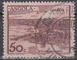 Angola Landschaften: Mi 321 50 C. Braunrot Gestempelt - Angola