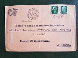 (41192) STORIA POSTALE  ITALIA 1930 - Marcophilie