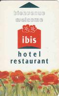 Hotel Keycard Ibis Magnetic Hotel Card - Cartes D'hotel