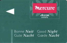 Hotel Keycard Mercure Accor Magnetic Hotel Card - Cartes D'hotel