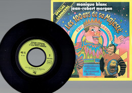 Nice Monique Blanc & Jean-Robert Morgan : Les 100 Ans De Sa Majesté + C'est Le Carnaval (RTG 1984) - Disco, Pop
