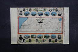 EGYPTE - Carte Postale - Post Saïd - Plan Du Canal De Suez - L 32021 - Port-Saïd