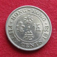 Hong Kong 50 Cents 1973 KM# 34  Hongkong - Hong Kong