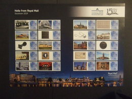 GREAT BRITAIN. 2019 Sweden EXH Sheet Stockholmia. MNH **. (SMIBOX-1764) - Unused Stamps