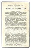 Oorlogsslachtoffer  * Pintelon August (° Bredene 1901 / + Anhée 1944) + Cools Adronie - Religion & Esotérisme