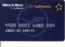 Lufthansa Miles & More Magnetis Card - Moteurs