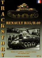 TRACKSTORY #4  CHAR LEGER  RENAULT  R35  R40 - Voertuigen