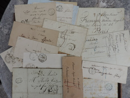 Lot 24 Lettres 1820 à 1891 - 1849-1876: Classic Period