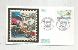 Premier Jour , FDC , 974 , REUNION ,  Saint DENIS ,  ROLAND GARROS ,  1988 - FDC