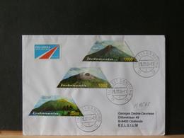 A9548    LETTRE  INDONESIA  POUR LA BELG. 2008 - Indonésie