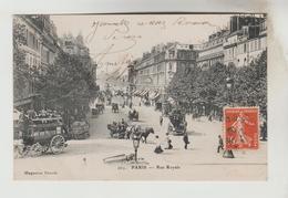 CPA PARIS 8° ARRONDISSEMENT - Rue Royale - Arrondissement: 08
