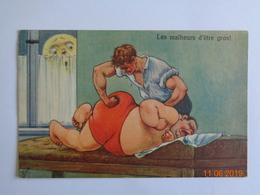 Humour - Les Malheurs D'être Gros - Massage - Gesundheit