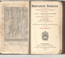Religion Bible Missel Breviarum Romanum Pars Verna De 1952 - écrit En Latin - Fourni Avec Sa Boite - Religione & Esoterismo