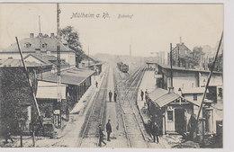 Mühlheim A. Rh - Bahnhof - 1906           (A-81-100909) - Mülheim A. D. Ruhr