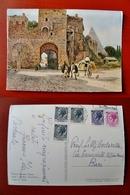 (FG.W11) ROMA SPARITA - PORTA SAN PAOLO (ETTORE ROESLER FRANZ) Illustrata Illustrazione - Other Monuments & Buildings