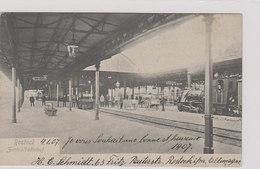 Rostock - Zentralbahnhof It Dampfzügen - 1907           (A-81-100909) - Rostock