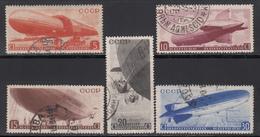1934   Michel Nº 483 / 487 - 1923-1991 UdSSR